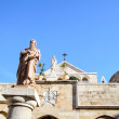 The Church of St. Catherine, Bethlehem — Stock Photo