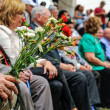 World War II Veterans at the celebration of 9th may — Stock Photo