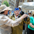 Stock Photo: World War II Veterans at the celebration of 9th may