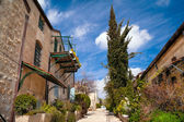 Tranquil Jerusalem lane — Stock Photo