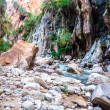 Wadi Hasa in Jordan — Stock Photo