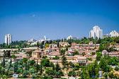 Landscape of Mishkenot Sheananim — Stock Photo