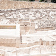 Model of ancient Jerusalem — Stock Photo