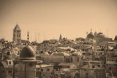 View on Jerusalem Old city — Stock Photo