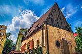 Synagogue in Prague — Stock Photo