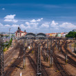 View on railway station — Zdjęcie stockowe #32012757