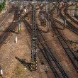 railroad track points — Stock Photo #32015771