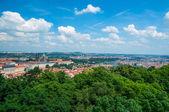 Aerial view on Prague — Zdjęcie stockowe