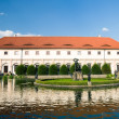 Pond in gardens of Wallenstein Palace — Stock Photo