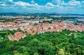 Aerial view of Prague — Stock Photo