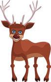 šťastný jelen — Stock vektor