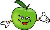 Radosne jabłuszko — Wektor stockowy