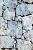 石头墙的特写 — 图库照片