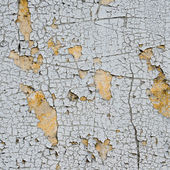 Old cracked paint on the wall  — Stock Photo