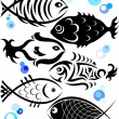 Stock Vector: Fish for vector