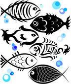 Fish for the vector — Stock Vector