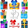 Gift set — Stock Vector