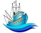 Pesqueiro — Vetor de Stock