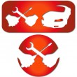 Stock Vector: Car repairs