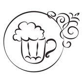 Pub sign — Stock Vector