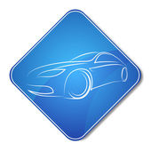 Auto design icon — Stockvektor