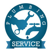 Plumbing service vector — Stock Vector
