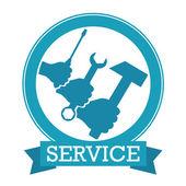 Service vector — Stock Vector