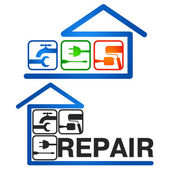 Home Repair vector — Stock Vector