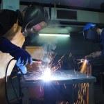 Steel Workers — Stock Photo #13617520