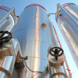 Industrial Silos - Power Plant — Stock Photo