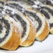 Foto Stock: Cake with poppy seeds