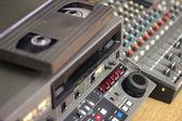 Tv-redigering - utrustning — Stockfoto