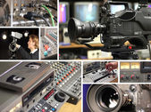 Television Equipment — Stock Photo