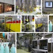 Production of Liquid Detergent - Stock Photo