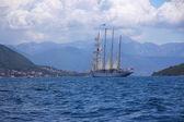 Sailboat at Sea — Stock Photo