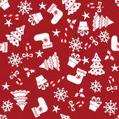Vánoční bezešvé pozadí — Stock vektor