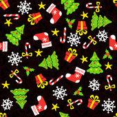 Christmas Seamless background — Stock Vector
