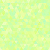 Light green abstract triangles seamless background — Vector de stock