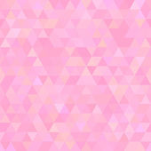 Light pink abstract triangles seamless background — Stockvektor