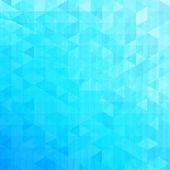 Fondo de triángulos vector abstracto azul — Vector de stock