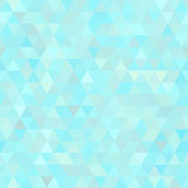 Light blue abstract triangles seamless background — Stock Vector