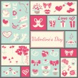 valentines card — Stock Vector