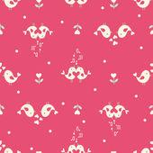 Valentine's seamless pattern — Stock Vector