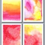 Watercolor abstract — Stock Vector