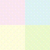 Seamless tenderness polka dot background — Stock Vector