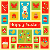 Holiday card with Easter element — Stock Vector