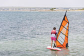 School of Windsurf — Foto Stock