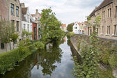 Canal in Bruges — Stock Photo