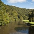 Stock Photo: Semois River, Bouillon, Belgium
