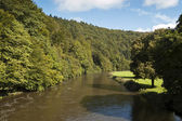 Semois River, Bouillon, Belgium — Stock Photo